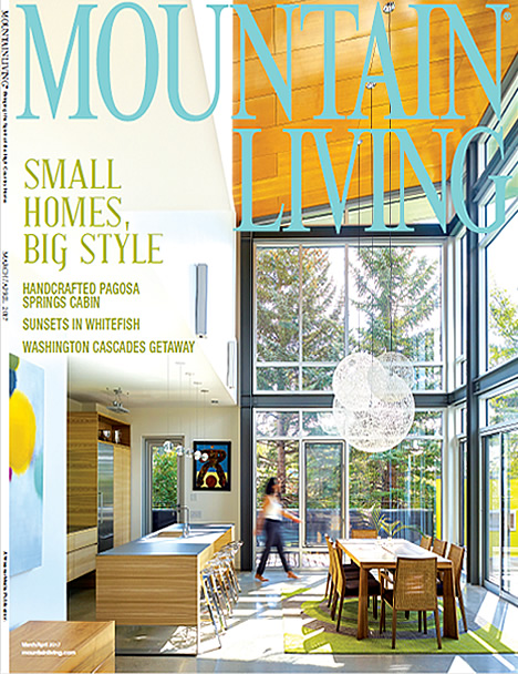 Mountain Living Article on Interior Visions