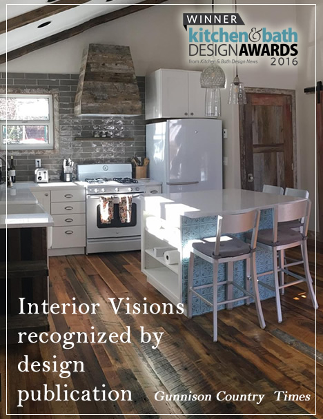 Interior Visions Recognized for Design Award