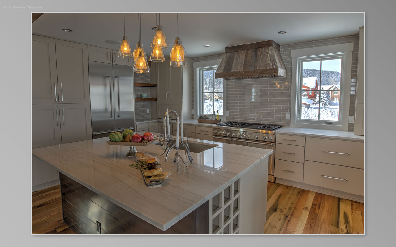 Interior Visions Crested Butte Belleview House Kitchen