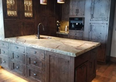 Western Classic Kitchen by Interior Visions Crested Butte Colorado