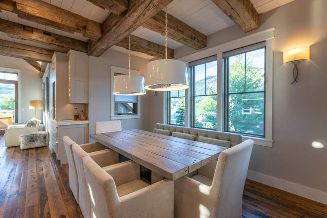 Crested Butte Beauty Interior Visions Crested Butte Dining Area