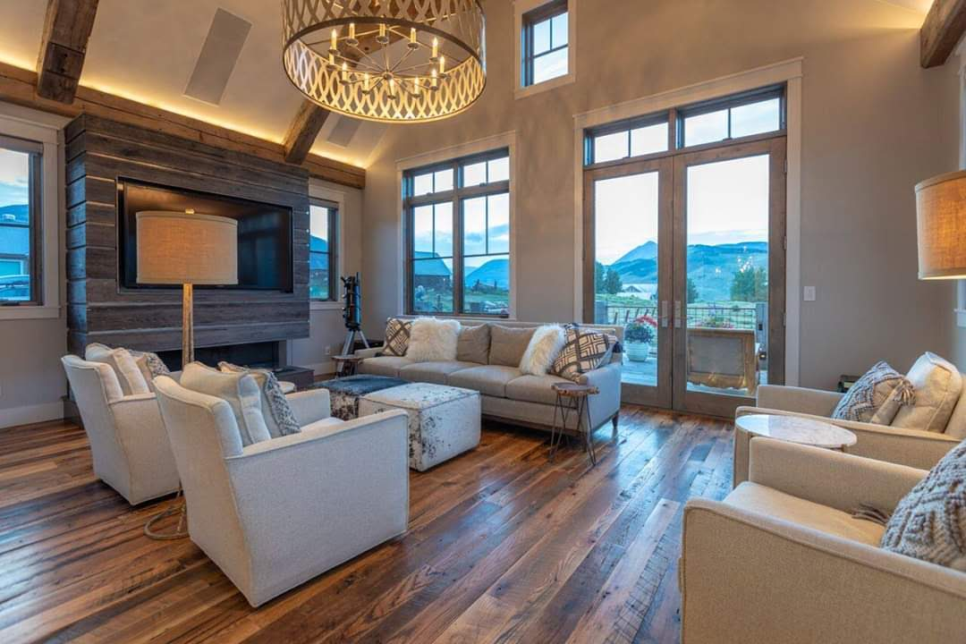 Crested Butte Beauty Interior Visions Crested Butte Living Room