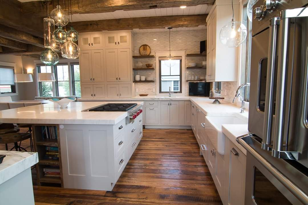 Interior Visions Crested Butte Beauty Kitchen