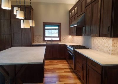 Walnut Kitchen with Starmark Cabinetry