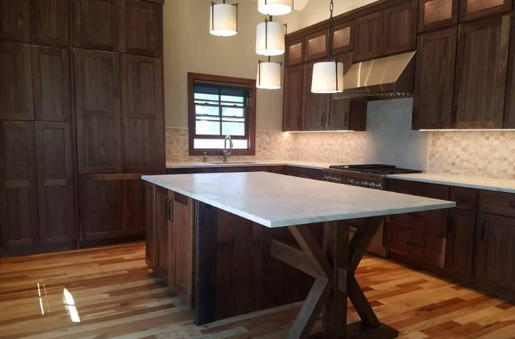 Gorgeous Walnut Kitchen Starmark Cabinetry